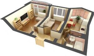 Сниму 2 комнатную квартиру без посредников!